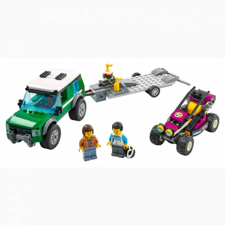 LEGO City Race Buggy Transporter 60288 5+