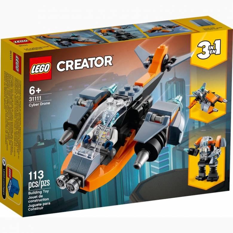 LEGO Creator Cyber Drone 6+ 31111