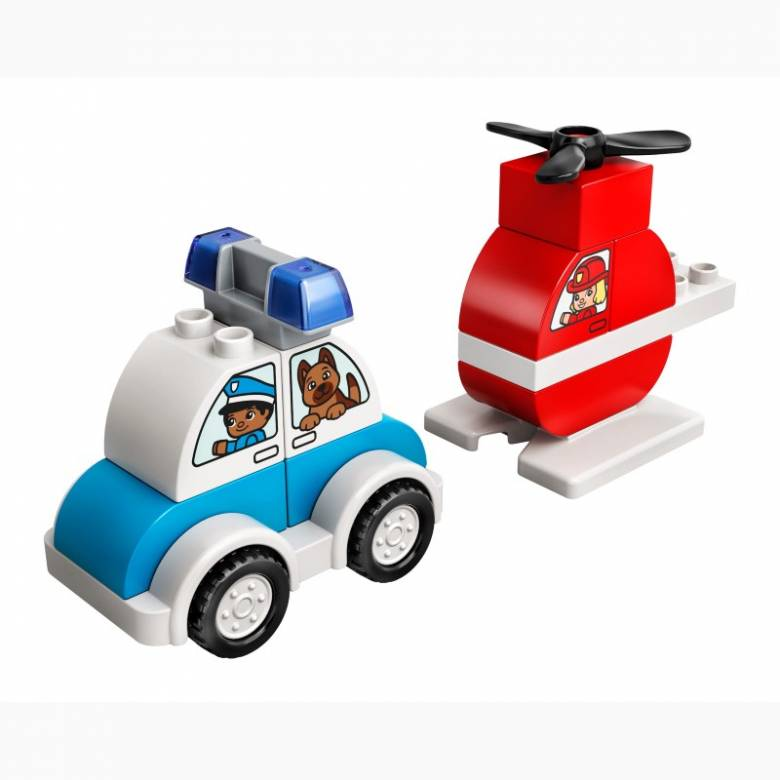 LEGO DUPLO Fire Helicopter & Police Car 10957 1.5+