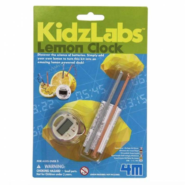 Lemon Clock - Science Toy 5+