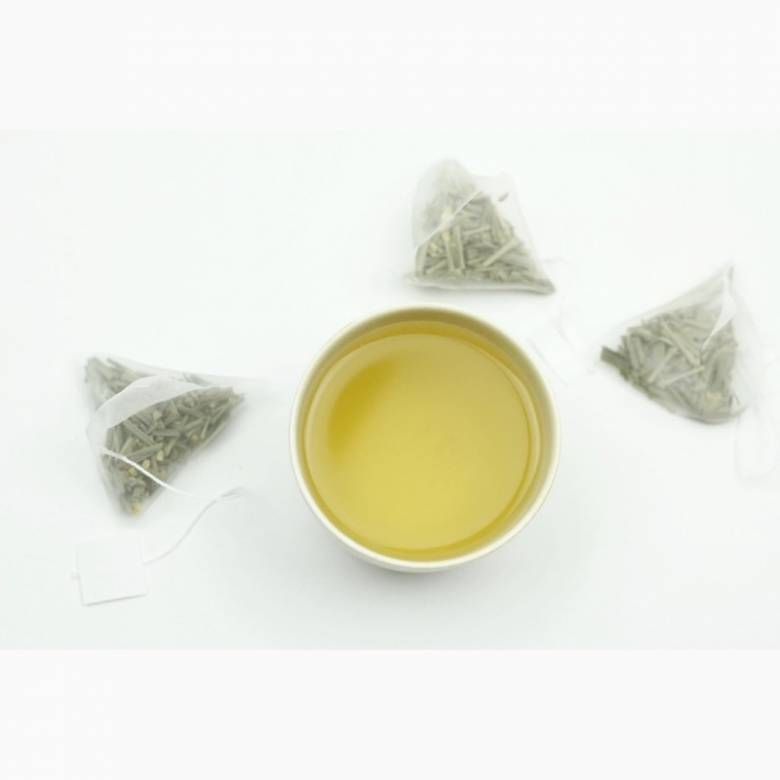 Tiosk Lemongrass & Ginger Box Of 15 Tea Pyramid Bags