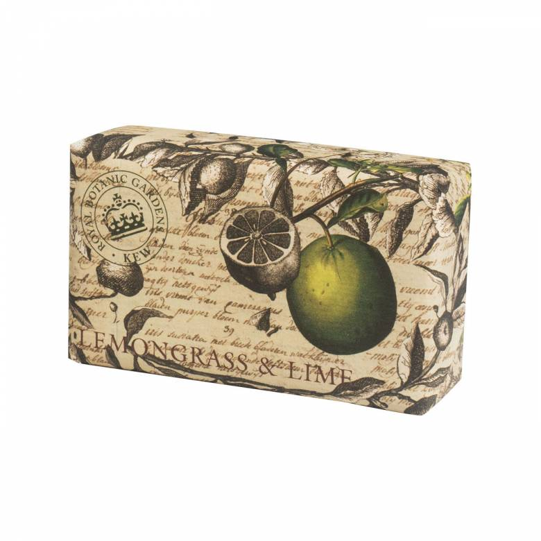 Lemongrass & Lime Kew Gardens Soap 240g