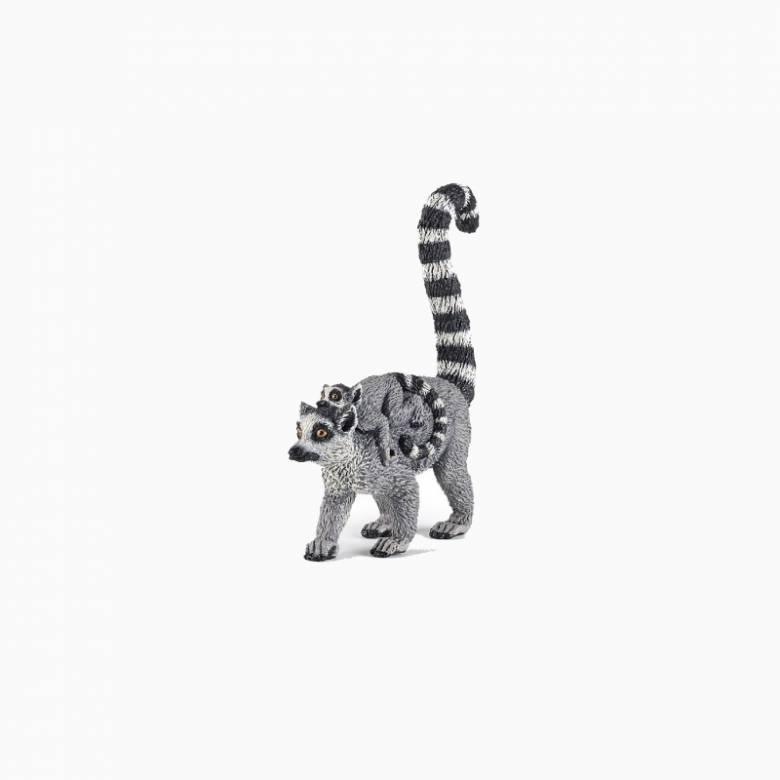 Lemur And Baby - Papo Wild Animal Figure