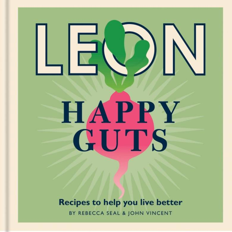 Leon: Happy Guts - Hardback Book
