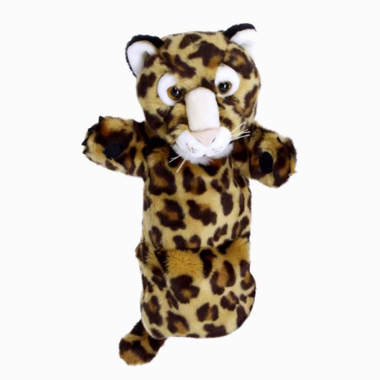 Leopard - Long Sleeved Glove Puppet 3+