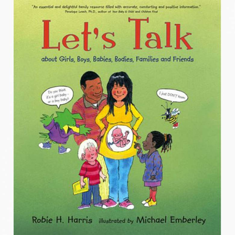 Let's Talk: About Girls, Boys, Babies, Bodies.. - Hardback Book