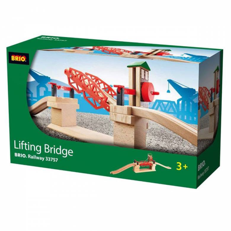 Lifting Bridge BRIO Wooden Railway Age 3+