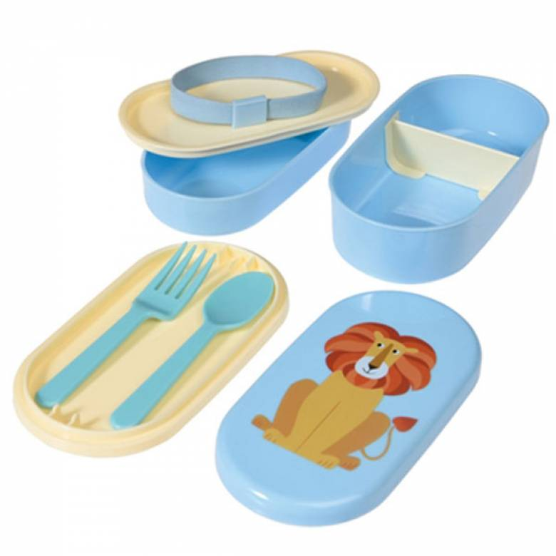 Lion Melamine Bento Box