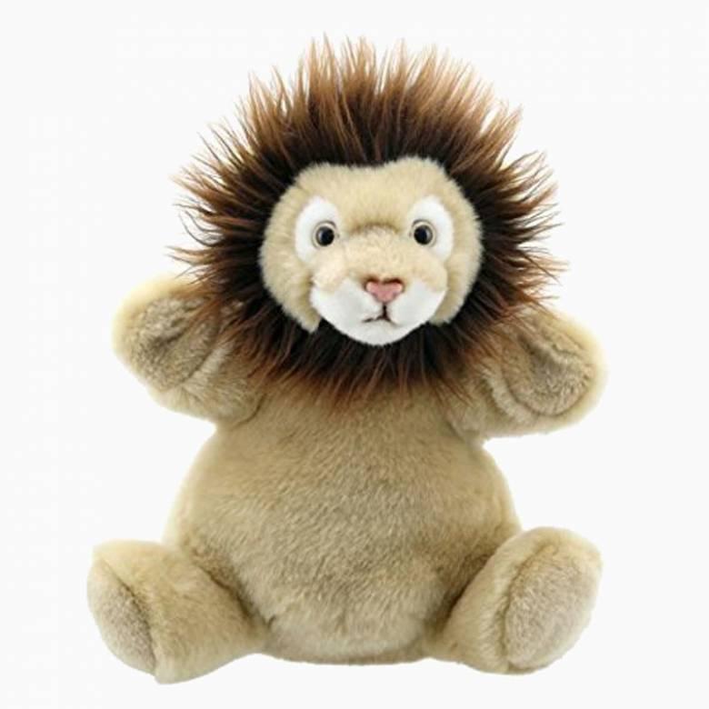 Lion Cub Cuddly Tumms Hand Puppet Soft Toy 1+