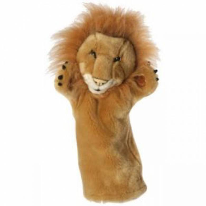Lion Long Sleeved Glove Puppet