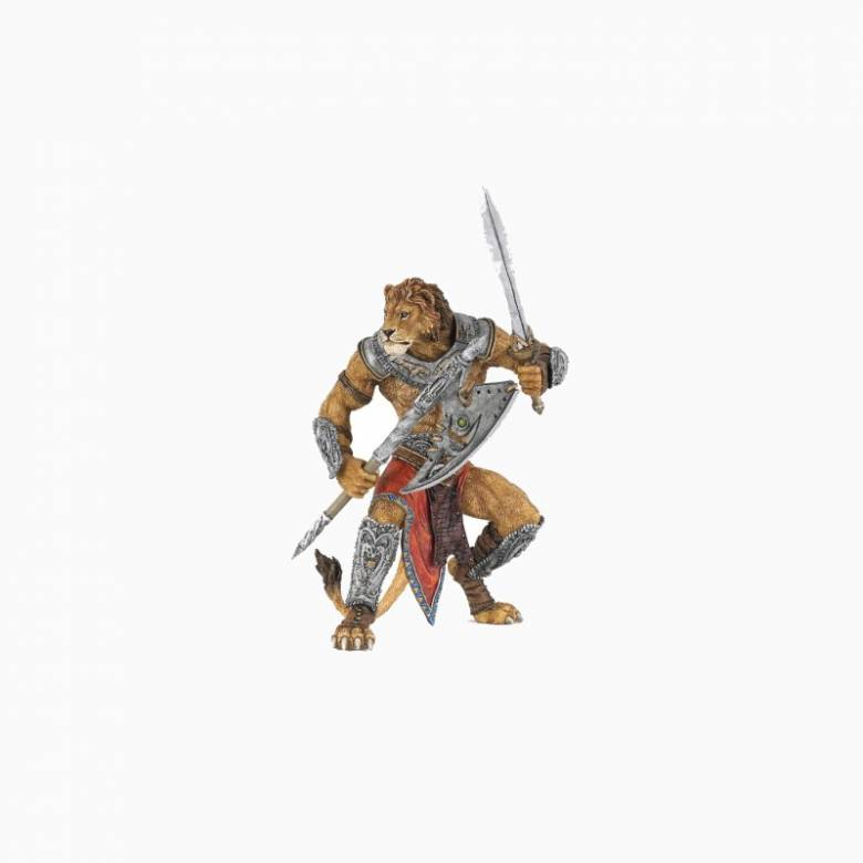 Lion Mutant Warrior - Papo Fantasy Figure