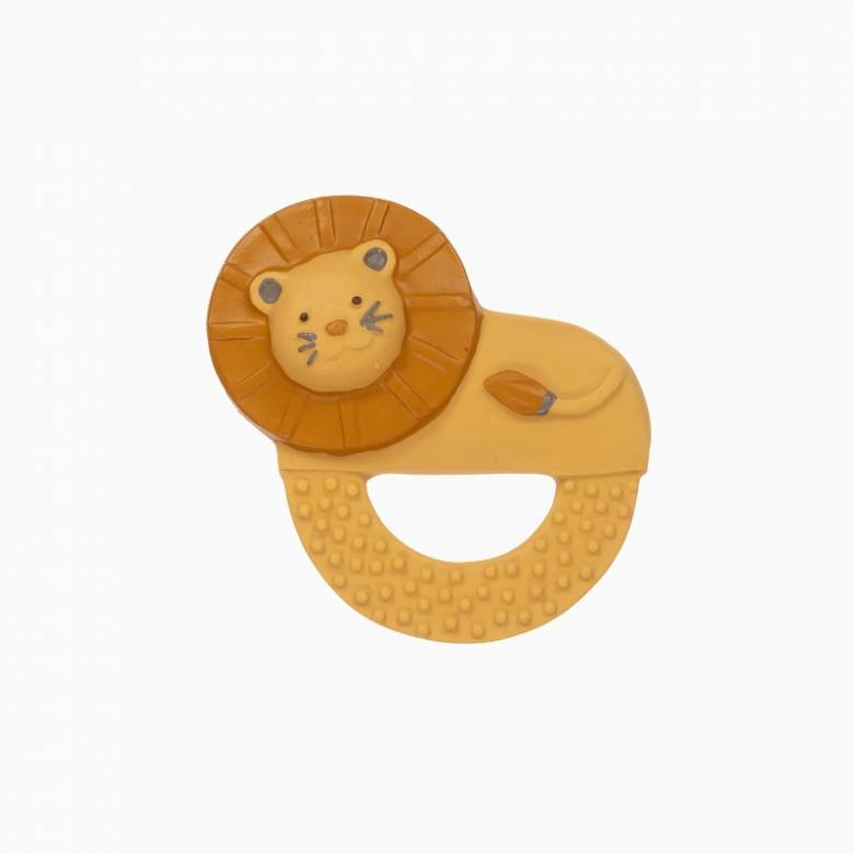 Lion - Natural Rubber Teething Ring 0+