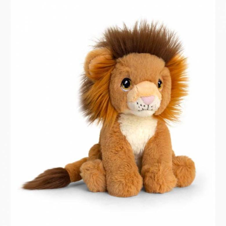 Lion Soft Toy - Made From Recycled Plastic 0+