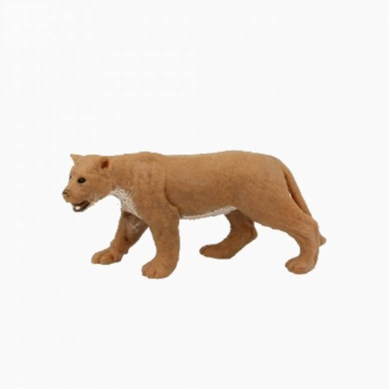 Lioness Stretchy Beanie Animal Toy 3+