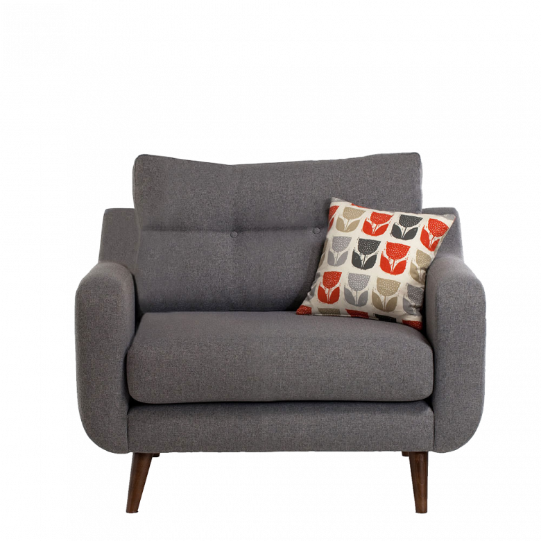 Lisbon Armchair By Whitemeadow - Fabric Grade C