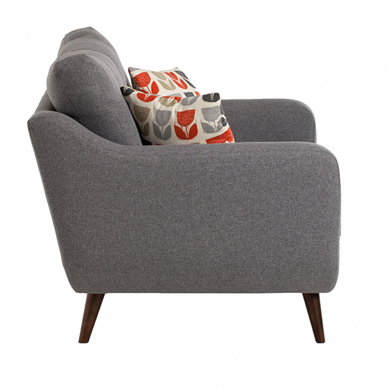 Lisbon Armchair By Whitemeadow - Fabric Grade B