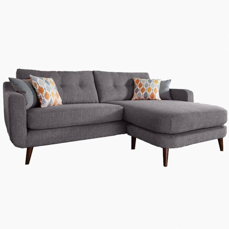 Lisbon Lounger Sofa by Whitemeadow - Fabric Grade B