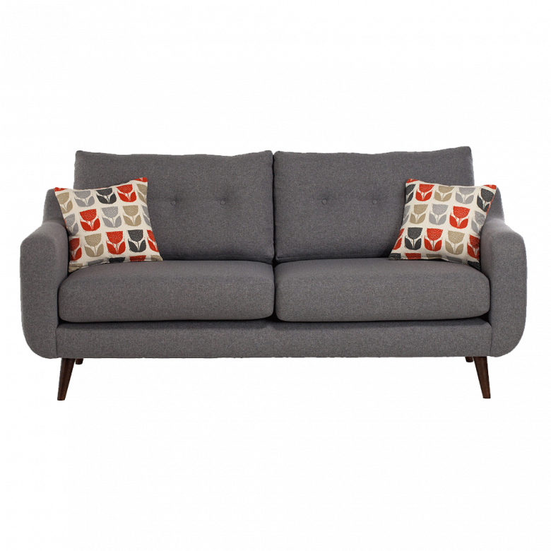 Lisbon Small Sofa by Whitemeadow - Fabric Grade C