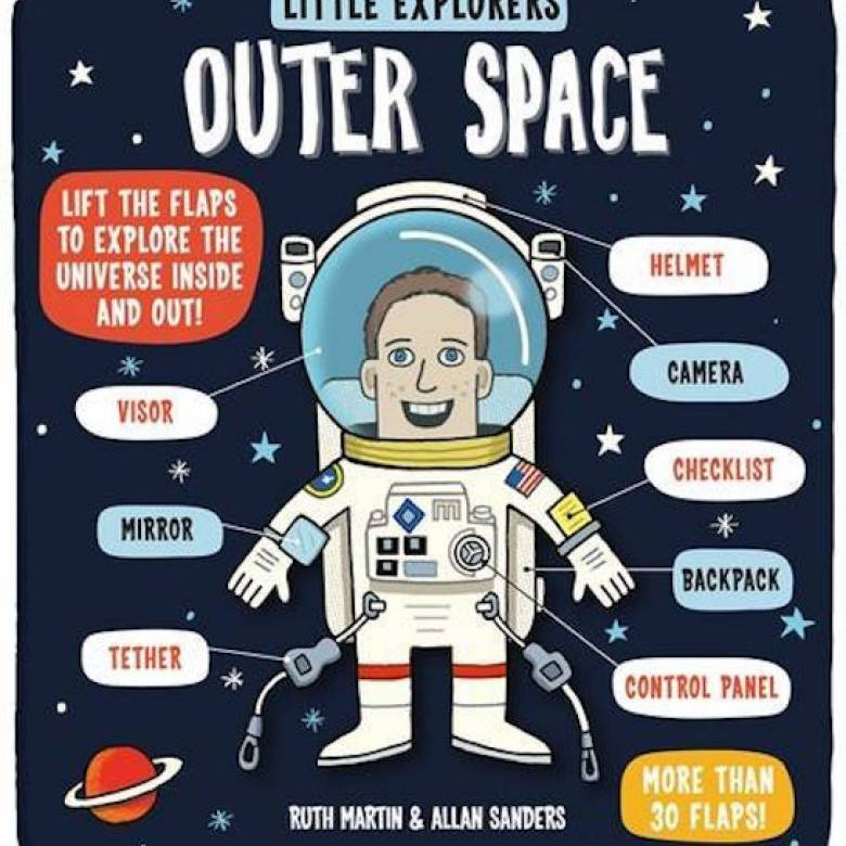 Little Explorers: Outer Space Hardback Book