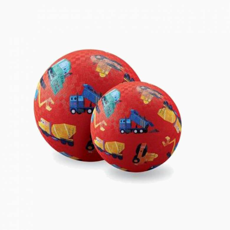 Little Builder - Small Rubber Picture Ball 13cm