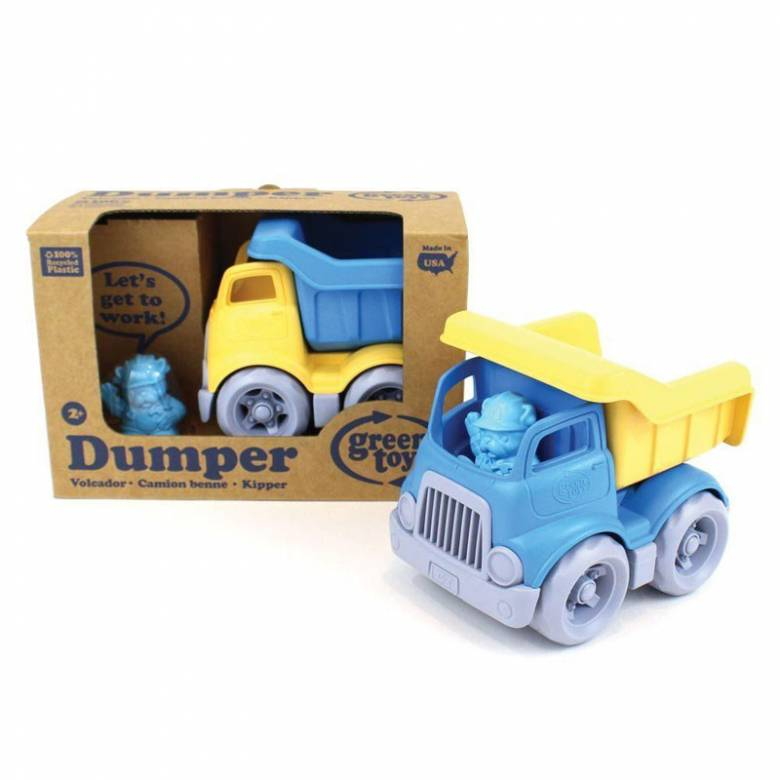 Little Dumper Truck By Green Toys - Recycled Plastic 2+