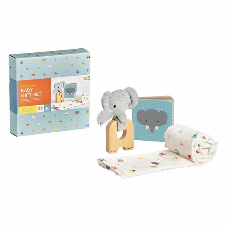Little Elephant Baby Gift Set 0+