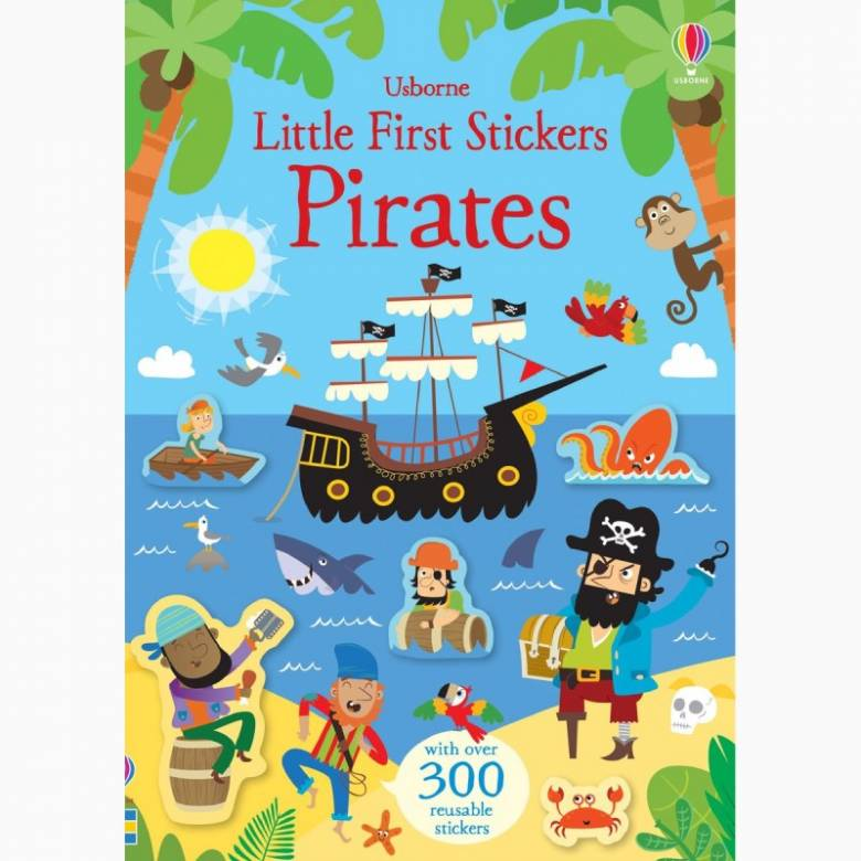 Little First Stickers: Pirates - Paperback Book