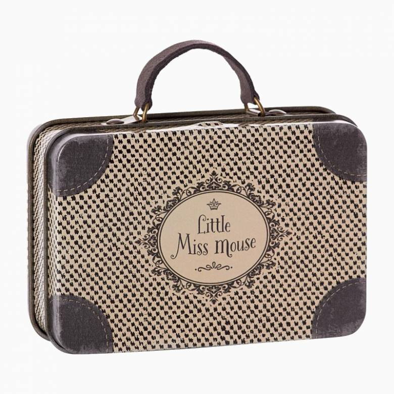 Little Miss Mouse Mini Metal Suitcase Toy