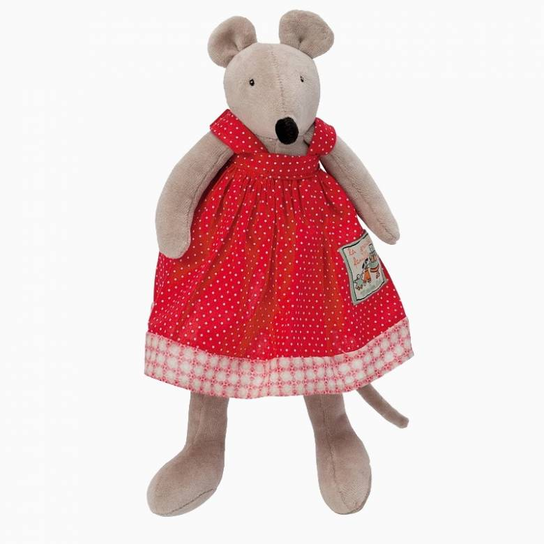 Little Nini The Mouse Soft Toy 0+