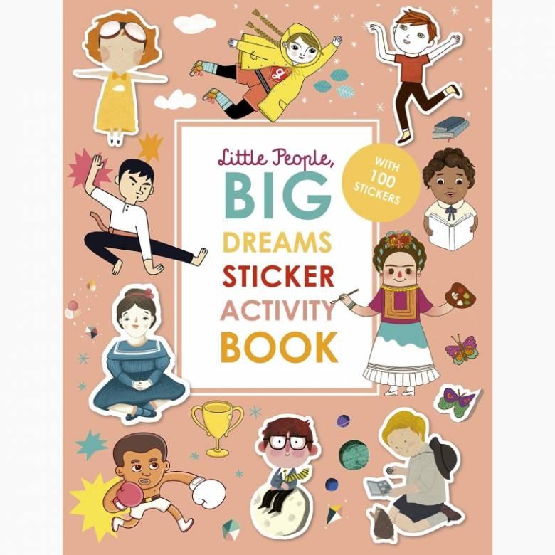 Little People Big Dream - Sticker Activity Book