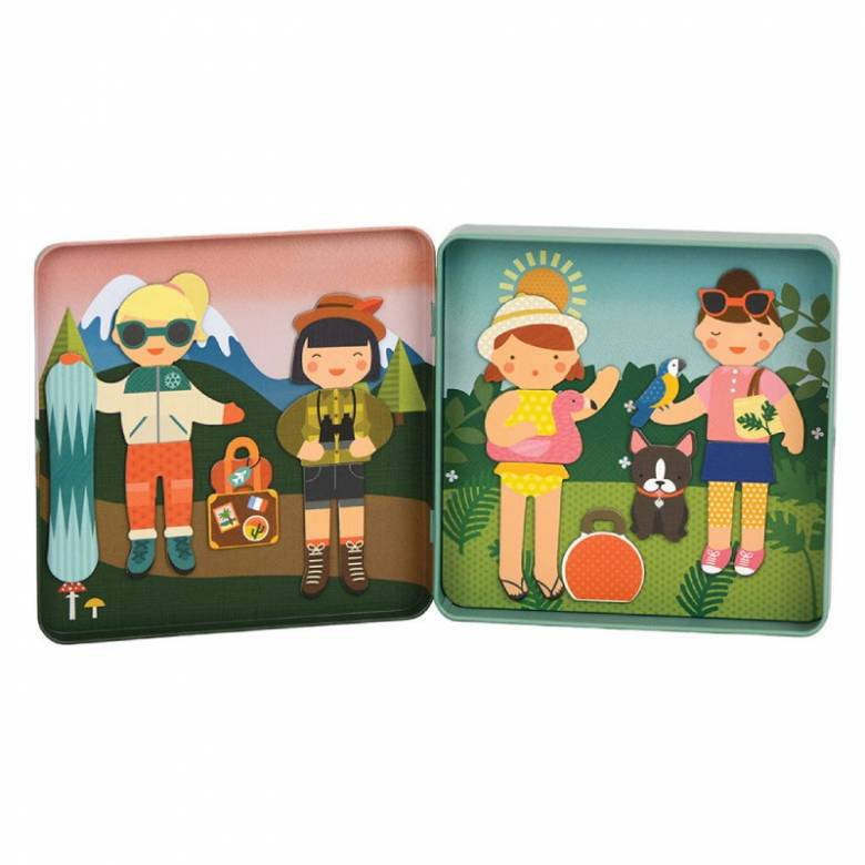 Little Travellers On the Go Magnetic Play Set 3+