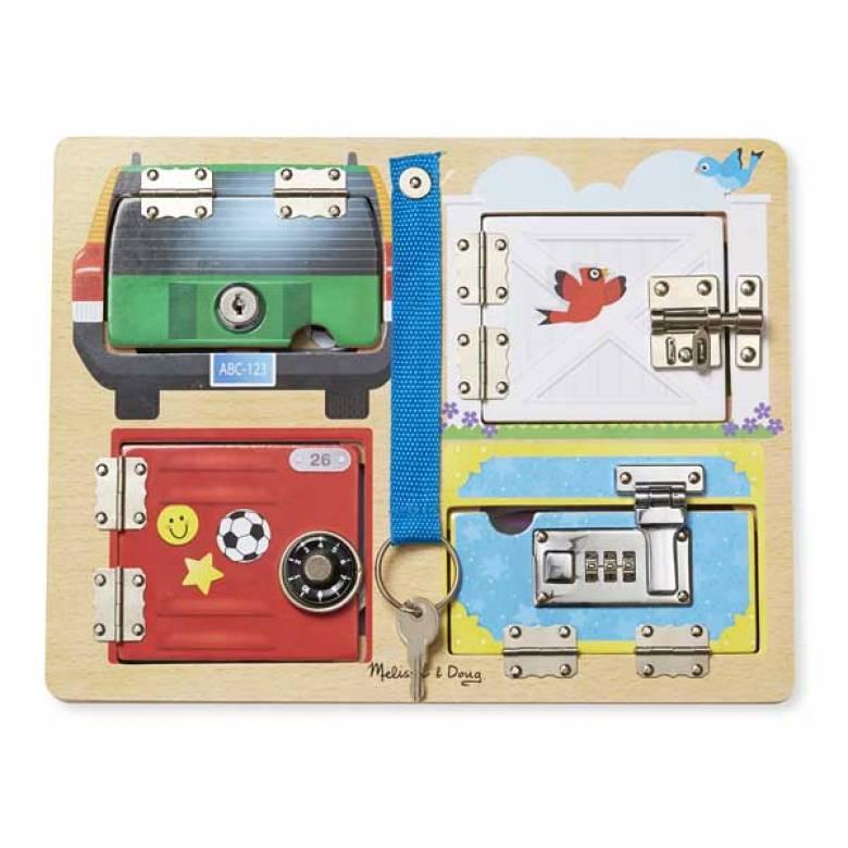 Lock & Latch Board 3+