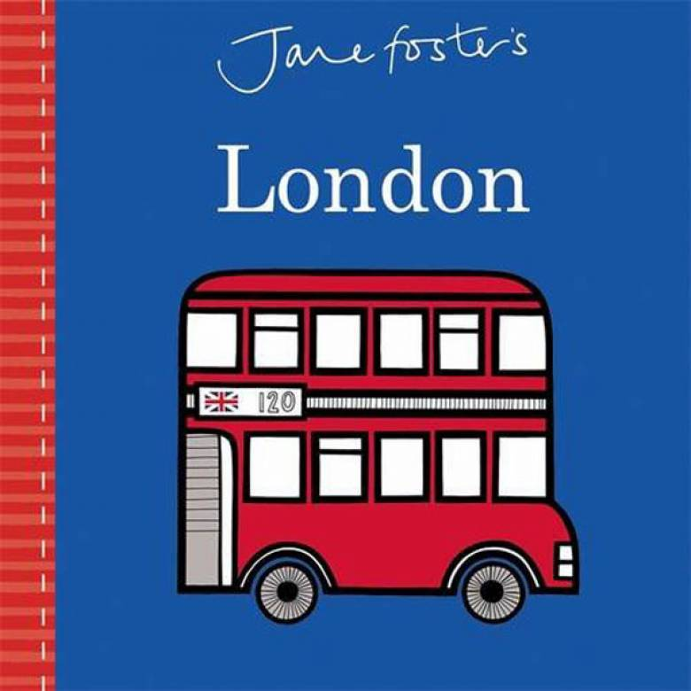 Jane Foster's London Board Book