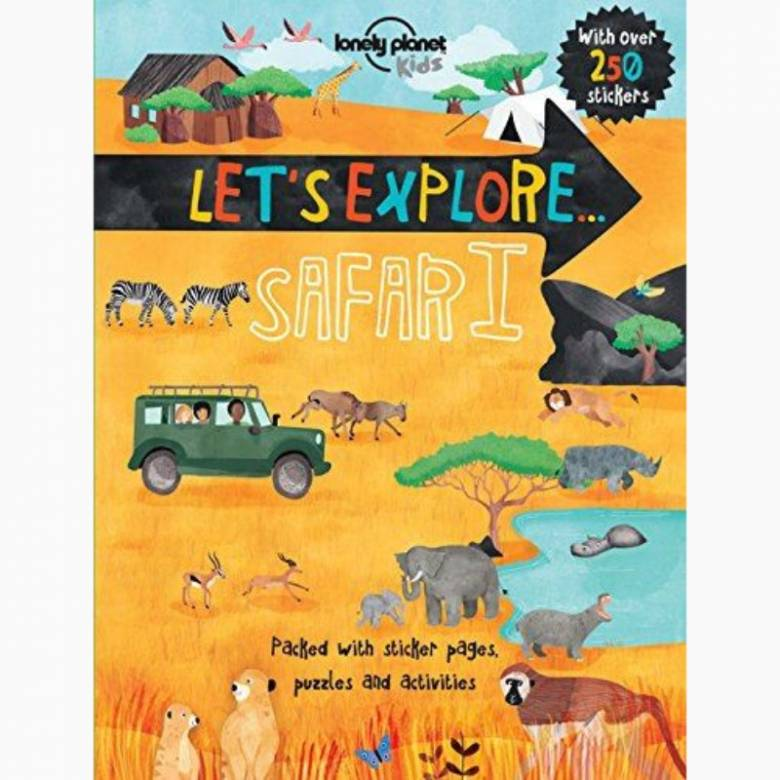 Lonely Planet Kids Let's Explore: Safari - Activity Book