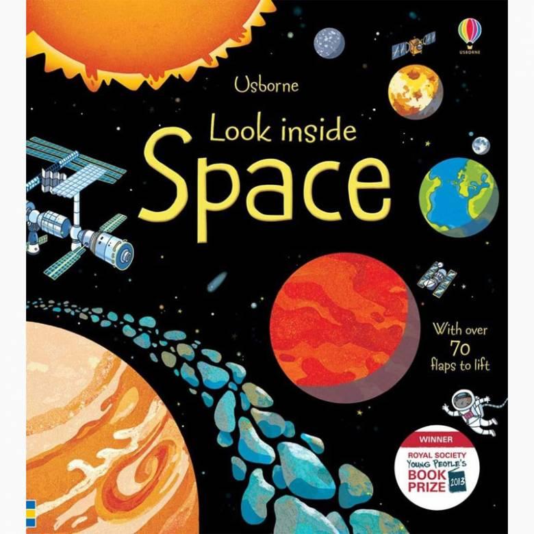 Look Inside: Space - Hardback Book