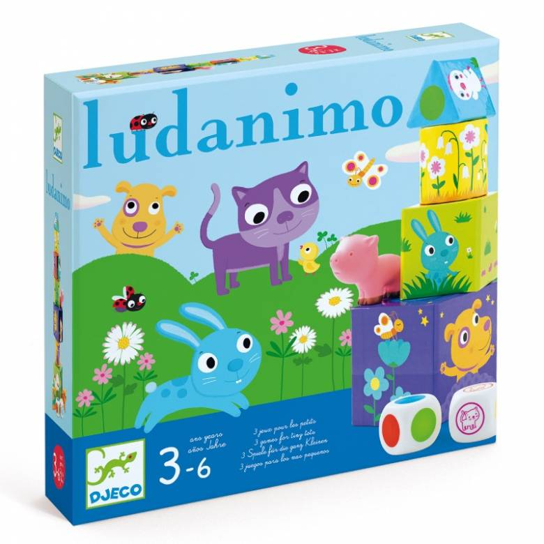 Ludanimo - 3 Games For Tiny Tots 3-6yrs