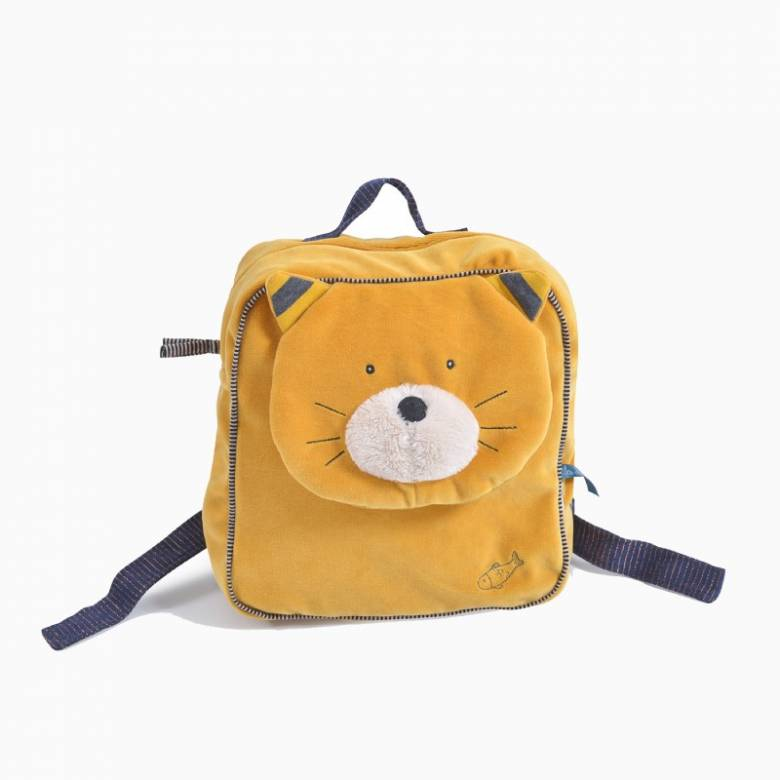 Lulu The Cat Soft Backpack Les Moustaches 3+