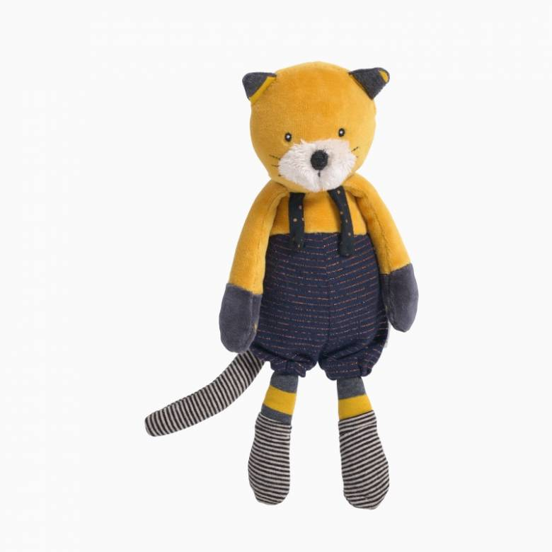 Lulu The Cat Soft Toy Les Moustaches 0+