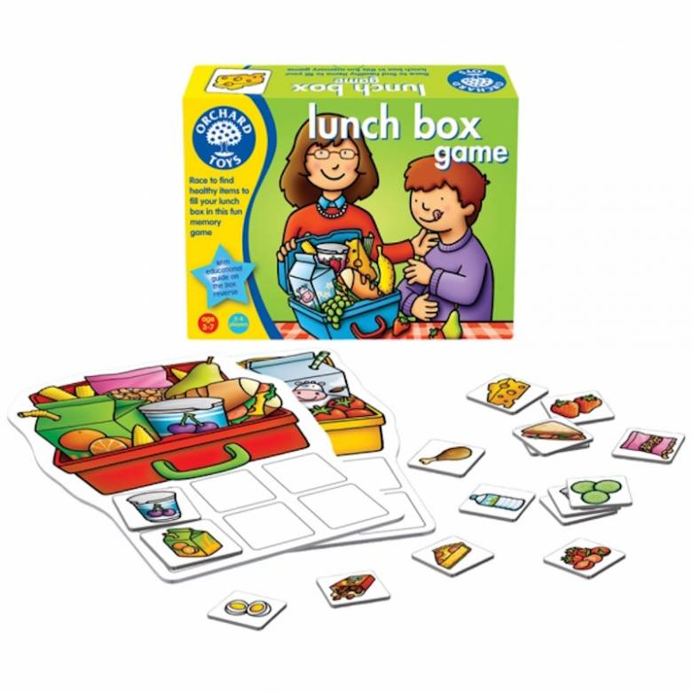 Lunch Box Game by Orchard Toys 3+