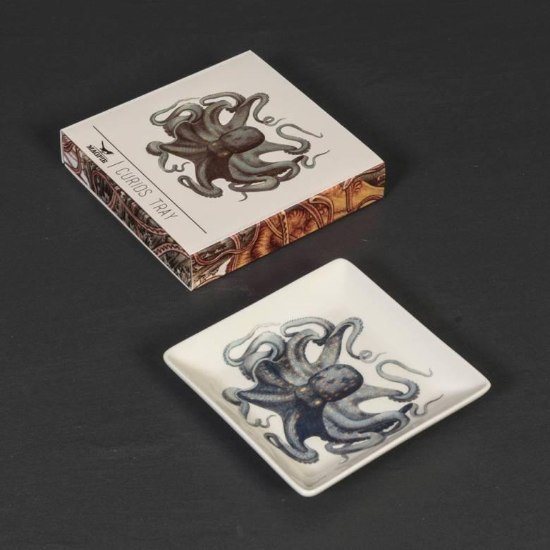 Octopus Trinket Tray 13cm x 13cm