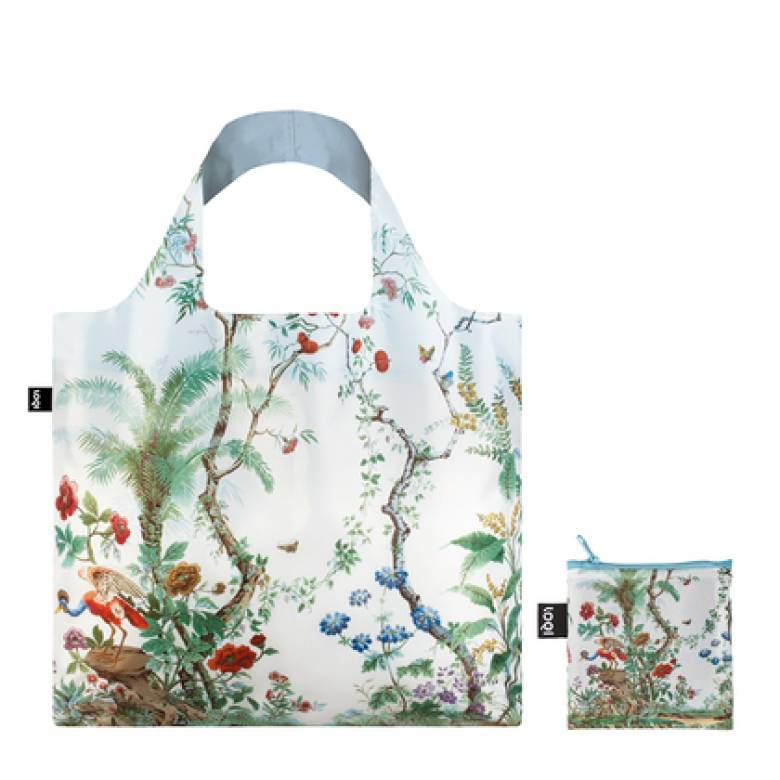 Chinese Decor - Reusable Tote Bag With Pouch