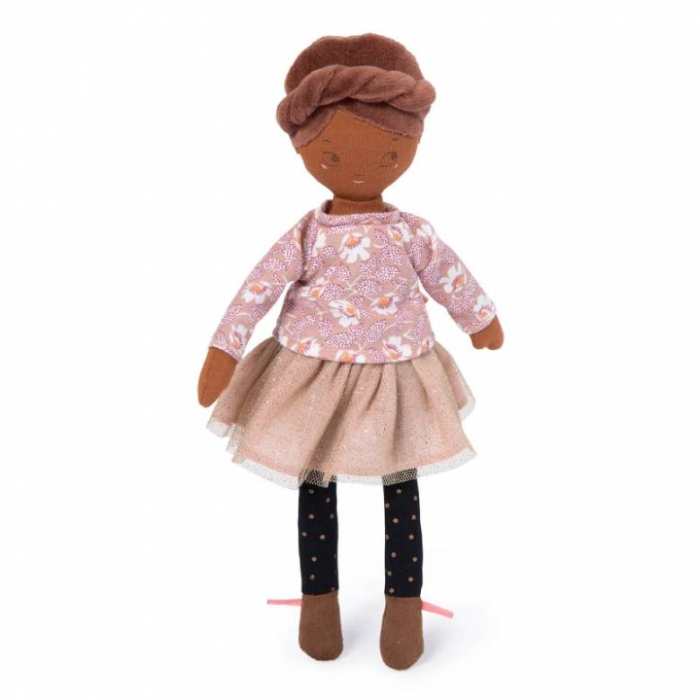 Mademoiselle Rose Les Parisiennes Soft Toy Doll 1+