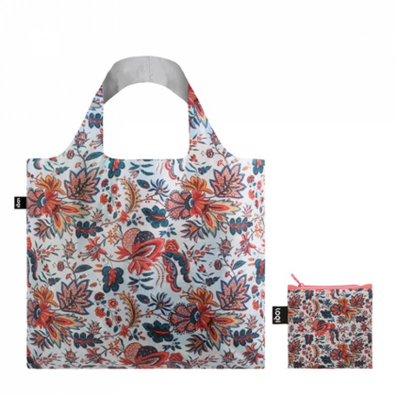 Indian Decor - Reusable Tote Bag With Pouch