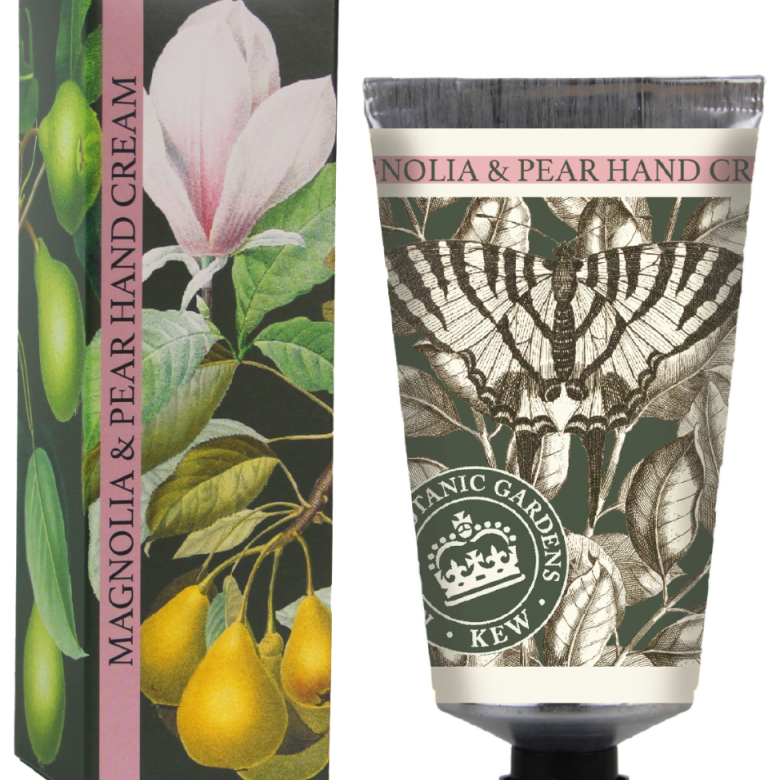 Kew Gardens 75ml Hand Cream Magnolia & Pear