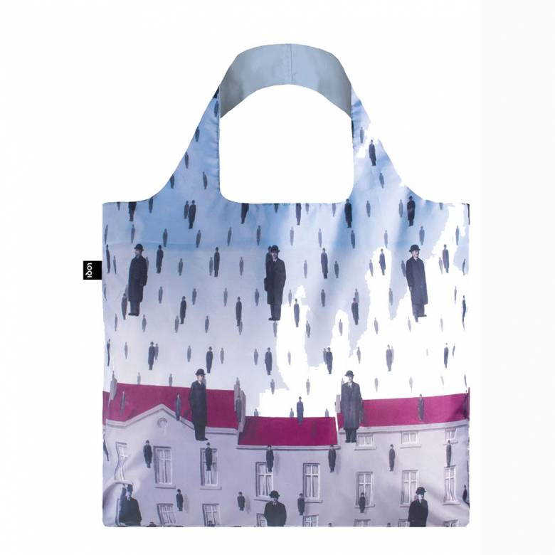 Magritte Golconda - Reusable Tote Bag With Pouch