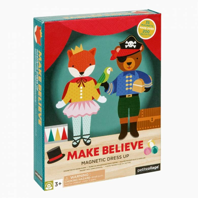 Make Believe - Magnetic Dress Up Play Set 3+
