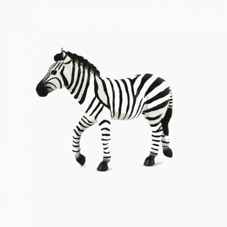 Male Zebra - Papo Wild Animal Figure