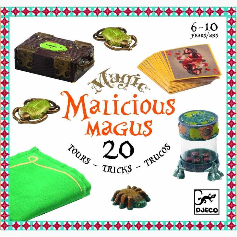 Malicious Magus Box Of Magic Tricks By Djeco 8+