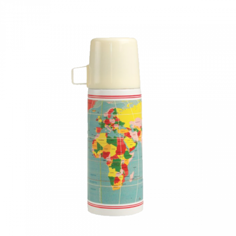 Map Flask - Thermos Flask