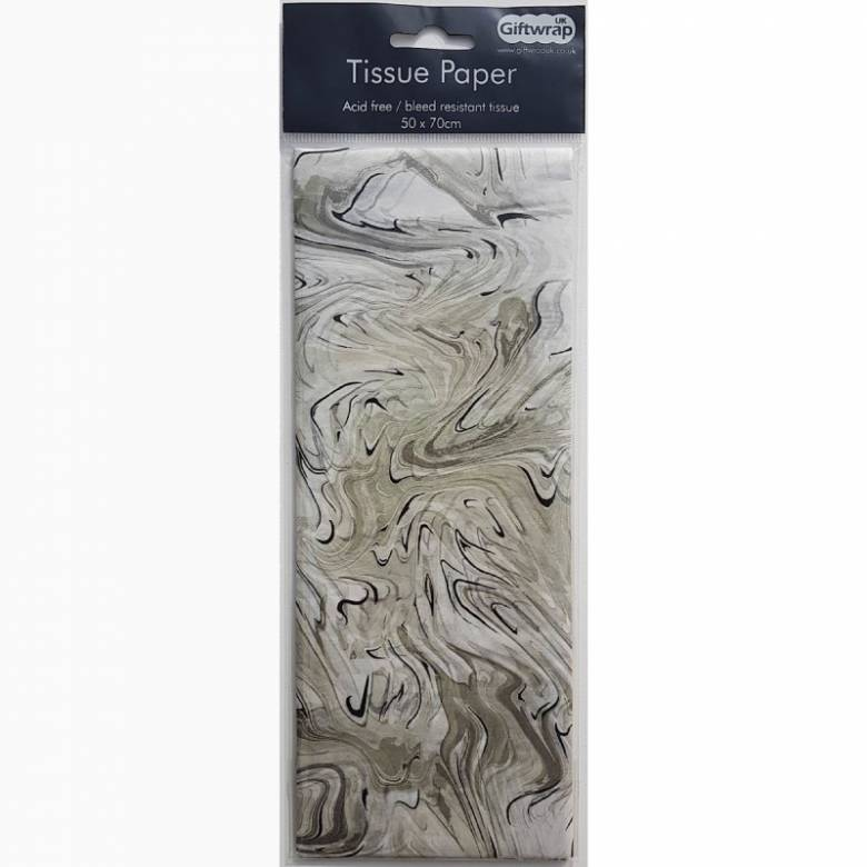 Pack Of Marble Tissue Paper